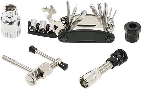 Multifuncional Bicicleta mantenimiento herramientas para bicicleta ...