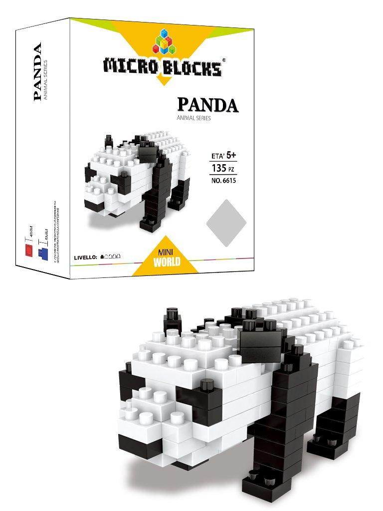 Micro Blocks wlt-6615–Set Bau Panda Wl Toys Industrical