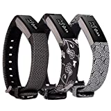 Lwsengme Silicone strap for Fitbit Alta Fitbit Alta HR Wrist Replacement Band Smart Watch Fitness Strap Accessory (3PCS-Color-02)