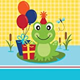 Creative Converting 18 Count Frog Pond Fun Luncheon 2-Ply Paper Napkins  sc 1 st  Amazon.com & Amazon.com: Creative Converting 8 Count Frog Pond Fun Luncheon Paper ...