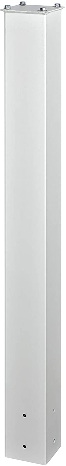 Mail Boss 7122, White In-Ground Mounting Post, 43 x 4 x 4 inches, for Use with Mailbox