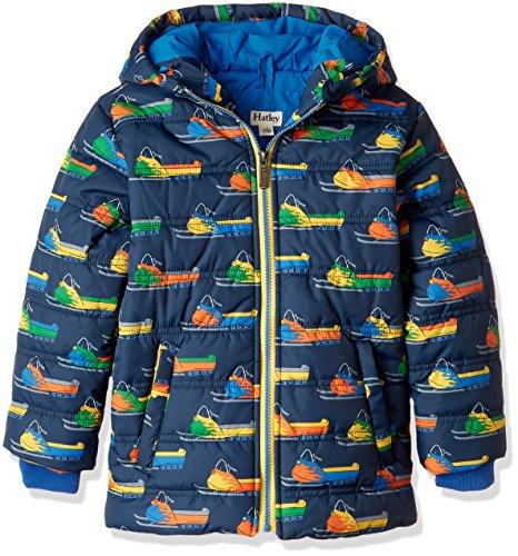 Hatley Boys' Big Puffer Jacket, Snowmobiles 7