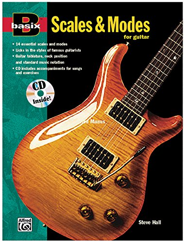 Scales and Modes for Guitar (with CD)