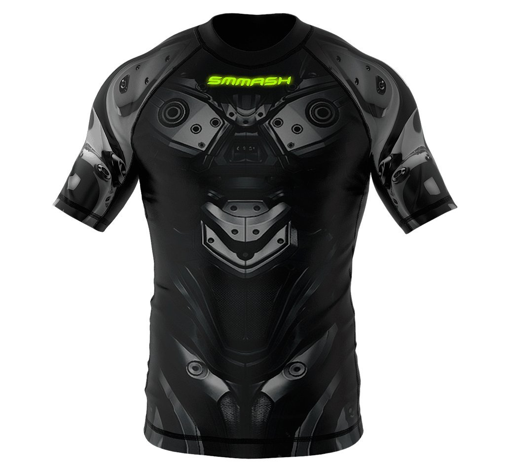 Image of SMMASH Short Sleeve Rashguard DROID