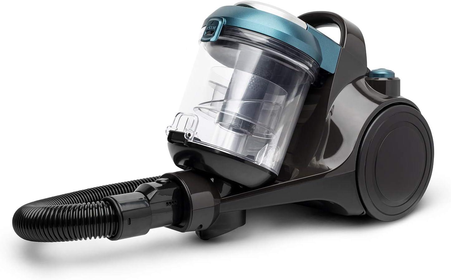 H.Koenig STC56 - Aspirador sin bolsa multicíclico de trineo HKoenig STC56 Ergonómico, Clase energética AAA, filtro HEPA12, silencioso, potente, incluido, boquilla plana 2 en 1, cepillo de tapicería: Amazon.es: Hogar
