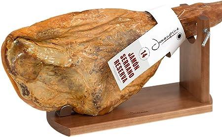 Jamonprive Soporte Jamonero Banqueta M - Jamonera Ideal para el Jamón Serrano e Ibérico y el Prosciutto Italiano (no Incluye Cuchillo): Amazon.es: Hogar