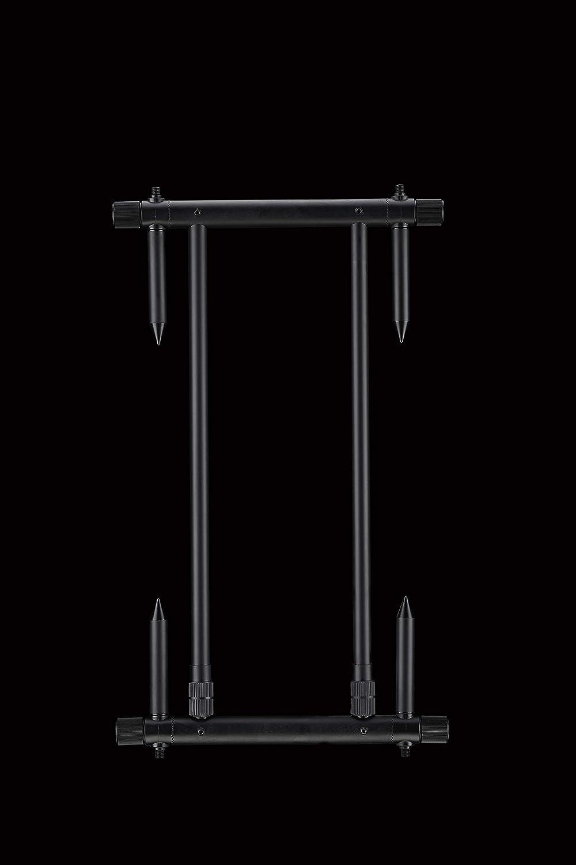 ND Tackle 360° Drehbar Rod Pod Rutenauflage 4 Ruten Rutenständer Karpfenangeln
