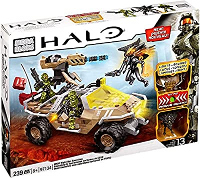 Mega Bloks® Halo®, UNSC Night Ops Gausshog - Item #97134