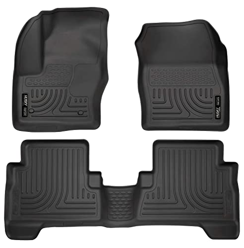 Husky Liners 99741 Black Weatherbeater Front & 2nd Seat Floor Mats