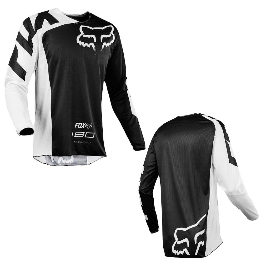 YSYFZ Maillot VTT Cyclisme en Plein air Sport v/élo Costume Costume Chemise /à Manches Longues Service Moto Hors Route T-Shirt /à Manches Longues Costume de Descente v/êtements de Sport Tout Terrain /ét/é