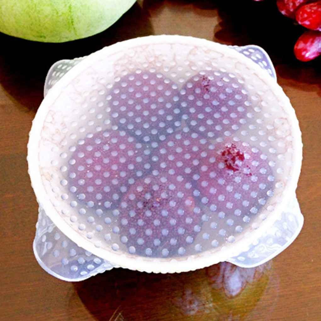 16cm Gankmachine Cubierta de Sello de Envoltura de Silicona Reutilizable Pel/ícula de Estiramiento de aro Mantiene los Gadgets de Alimentos Frescos 16