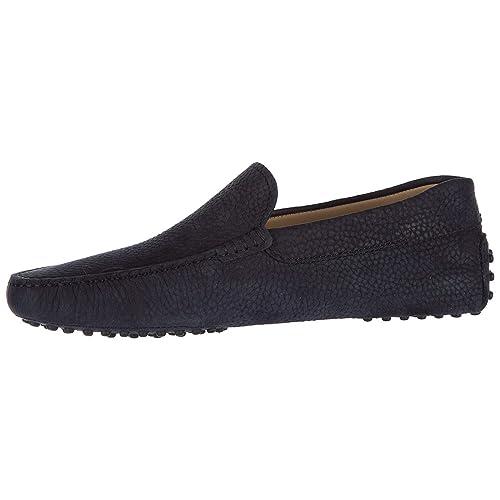 Tods Mocasines en Piel Hombres Pantofola New Gommini 122 BLU EU 41.5 XXM0GW0S570NARU801
