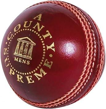 Lectores County Supreme una pelota de críquet: Amazon.es: Deportes ...
