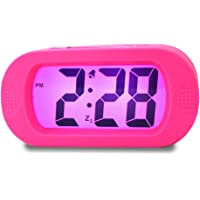 Samshow Shockproof Portable Travel Alarm Desk Clock