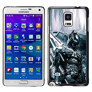Stuss Case / Funda Carcasa protectora - FUTURO SOLDADO BAT TECH - Samsung Galaxy Note 4