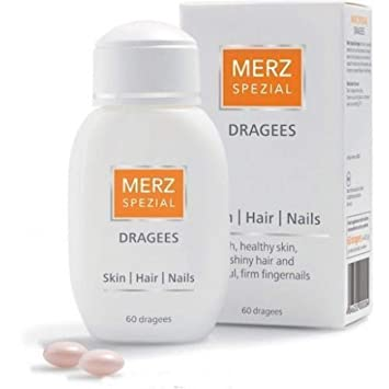 Amazon.com: Merz Special 60 Dragees Vitamins Beauty, Healthy Hair ...