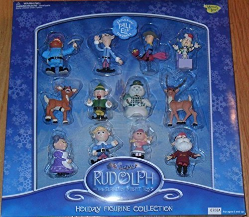 Rudolph and the Island of Misfit Toys Figurine Collection