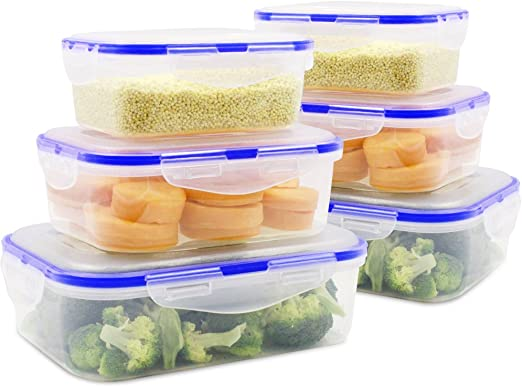 bpa free plastic containers food storage