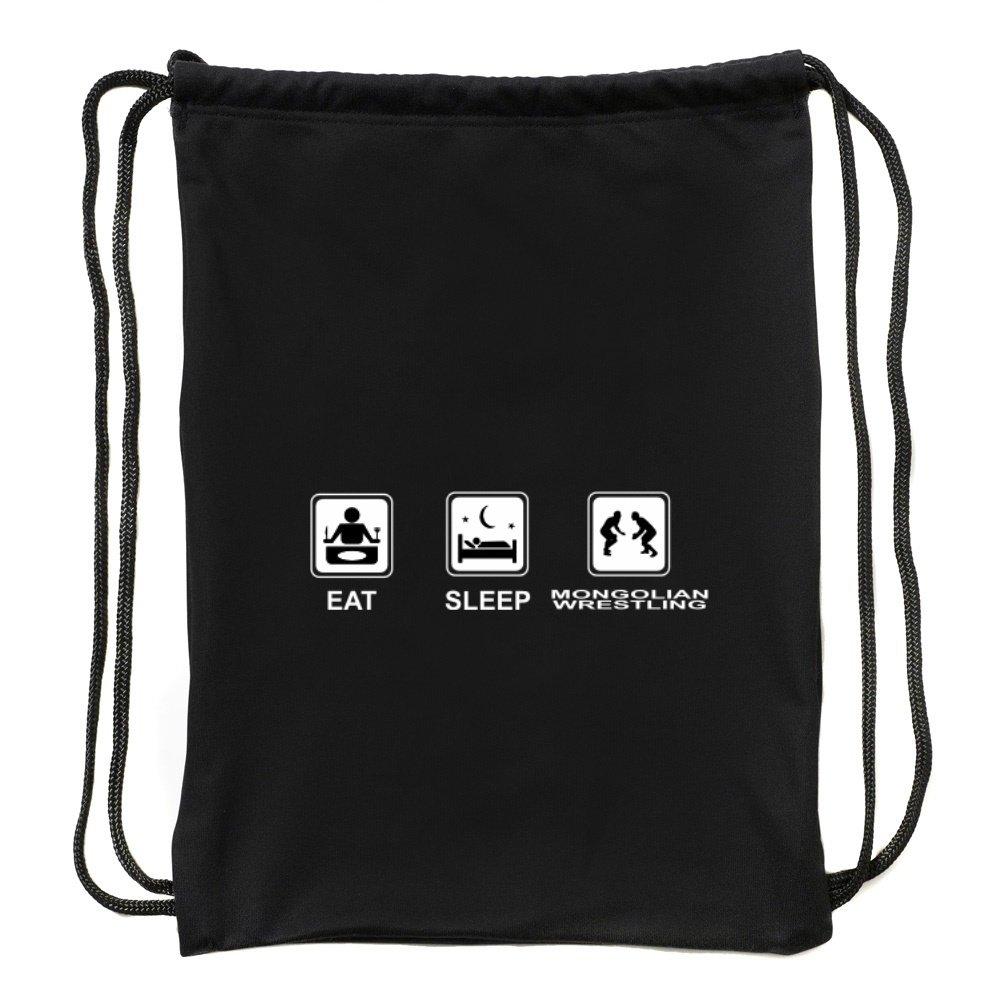 Eddany Eat sleep Mongolian Wrestling Sport Bag