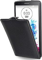 StilGut® UltraSlim Case, custodia in pelle per LG G3s, nero
