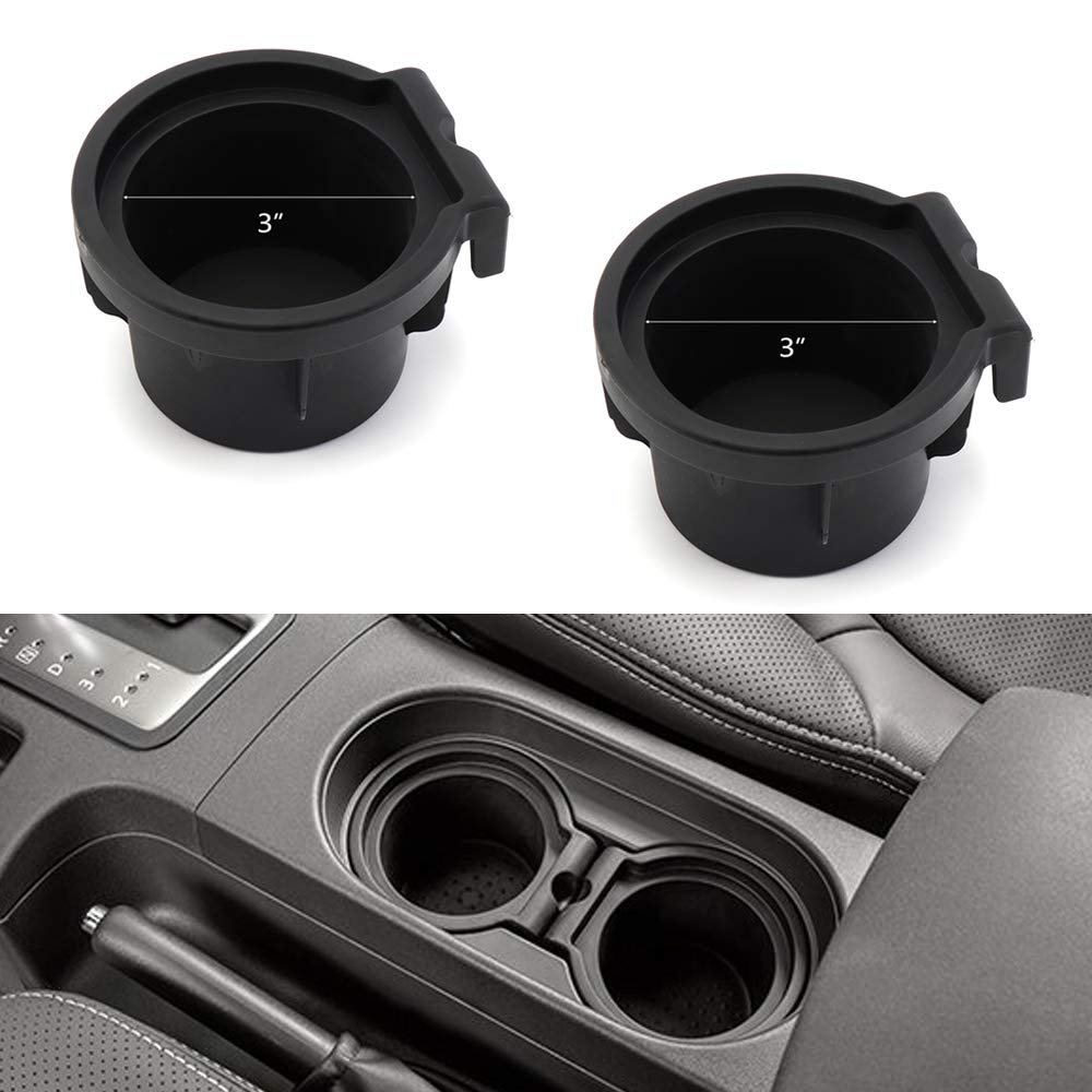 2 Cup Holder Inserts for 2005-2019 Nissan Frontier 2005-2012 Pathfinder/ 2005-2015 Xterra/ Cup Holders 96975-EA000 96975-ZS00A