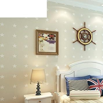 American Style Tapete Von England/ Vliestapete/ Einfache Und Moderne  Schlafzimmer Tapeten/Hintergrund