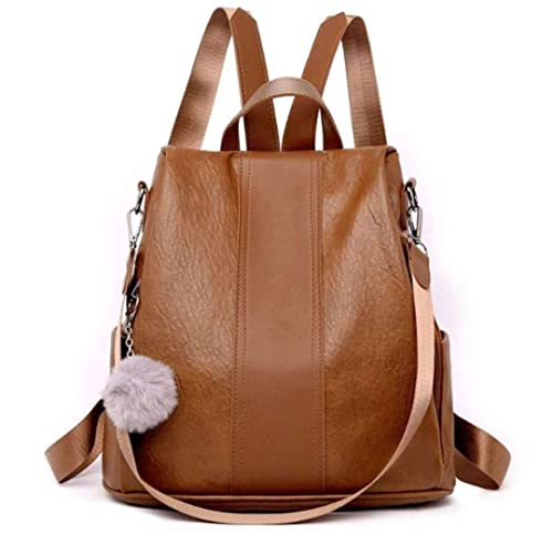 247ab0ff8 Amazon.com: Anti-theft Women Waterproof Backpack,Yun&Luo Ladies Cute PU  Leather Rucksack Fashion Small Daypacks Purse for Girls Fashion Handbags  Lightweight ...
