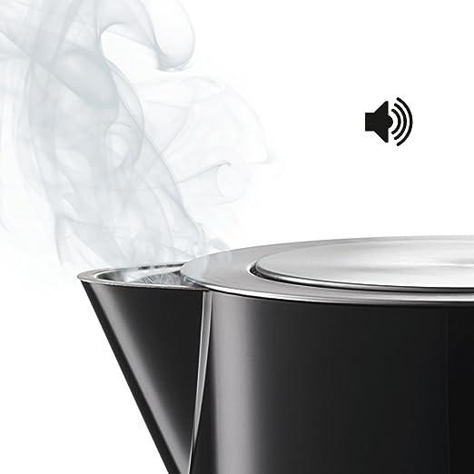 Bosch TWK7203 - Hervidor de agua (selección de temperatura mediante TouchControl, 1.7 l, 2200 W), negro: Amazon.es: Hogar