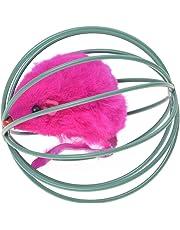TOOGOO(R) Juguete para Gato Juguete de Jaula y con Un Raton Dentro