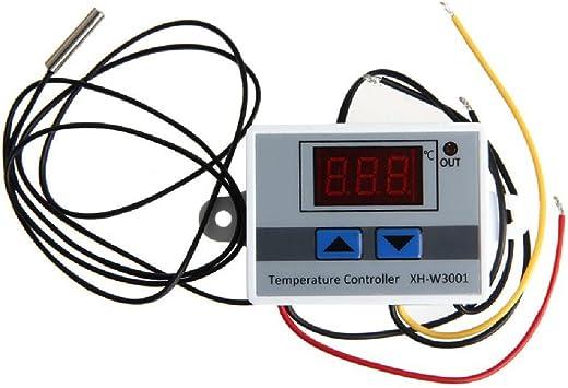 JZK 220V Controlador de Temperatura Doble Relés con Sensor ...