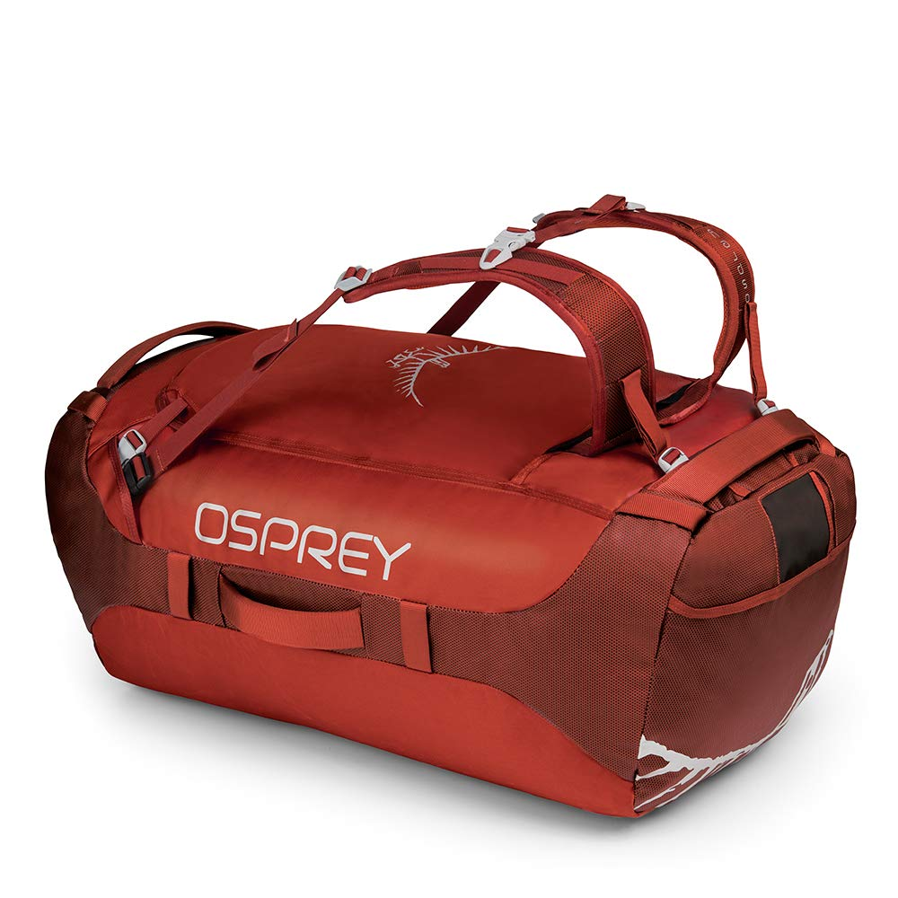 Osprey Packs Transporter 95 Expedition Duffel, Ruffian Red, One Size