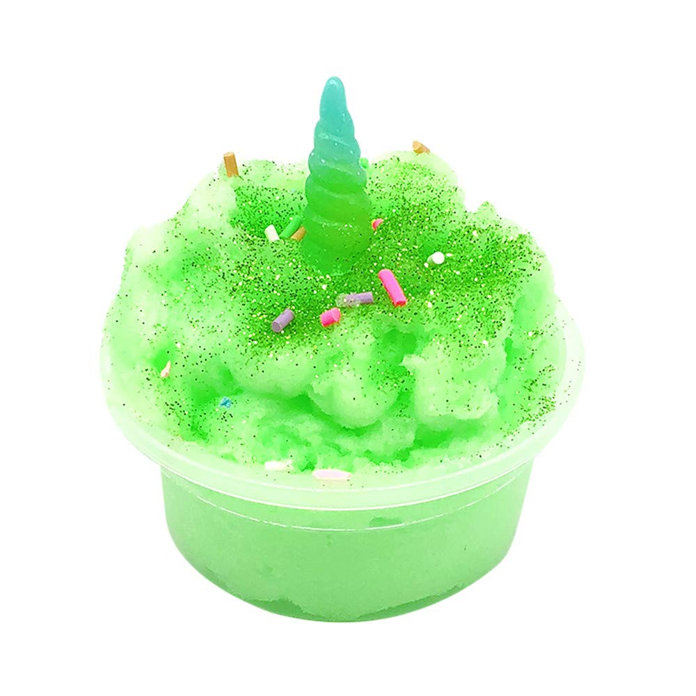 Kanzd Mud Mixing Cloud Slime Putty Scented Stress Clay Sludge Toy (A)