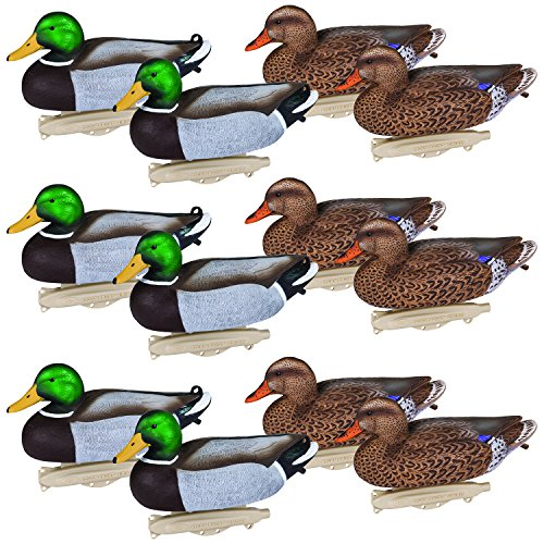 New Flambeau Outdoors 8030SUV Storm Front 2 - Mallard - Floaters- 12-PK