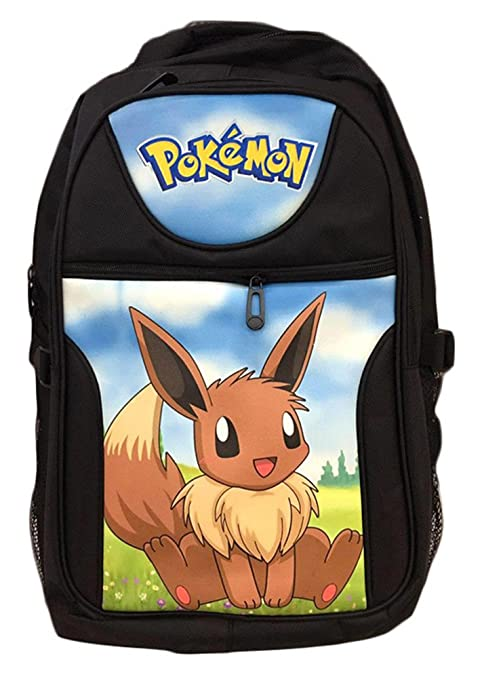 bsbl Pokemon Pikachu Anime de dibujos animados mochila escolar bolsa estudiante bolsas para niños, niñas