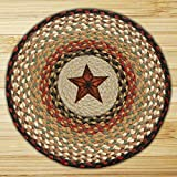 15.5in. x 15.5in. Barn Star Round Chair Pad - Set of 4