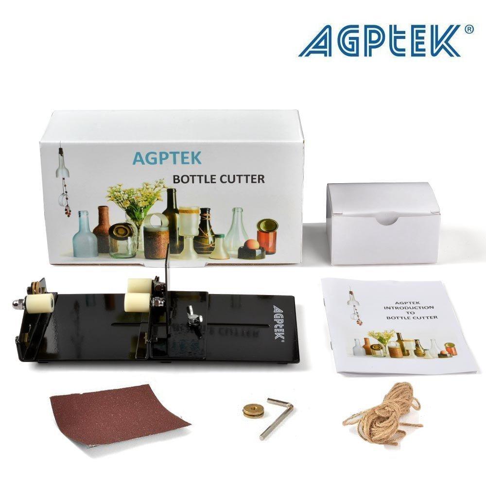 Glass Cutter AGPtEK Glass Bottle Cutter Machine Wine Bear Bottle Jars Cutting Tool - Cutting up to 16cm Glass Bottle by AGPTEK