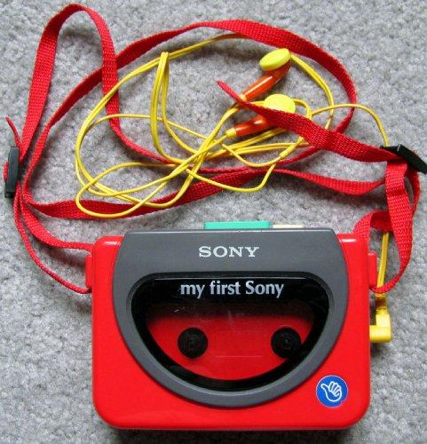 First Sony Kids Cassette Walkman