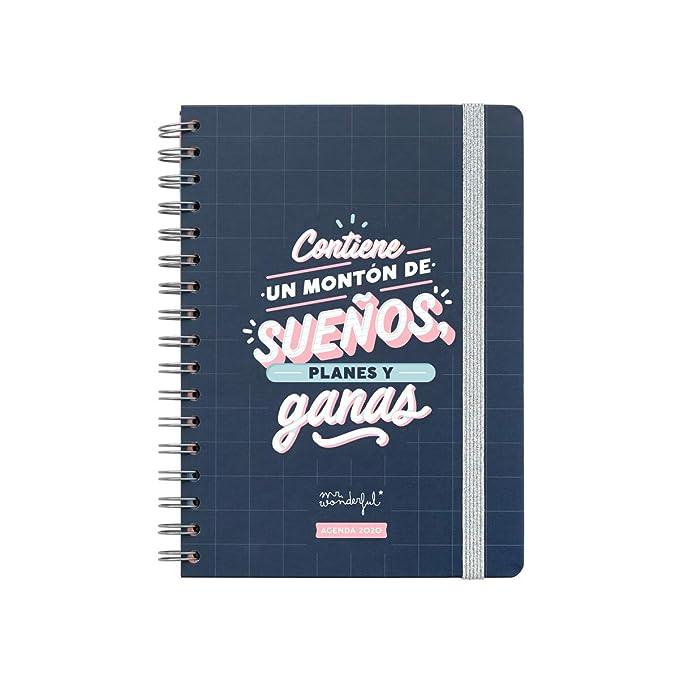 Mr. Wonderful, Agenda Clásica 2020: Amazon.es: Oficina y ...