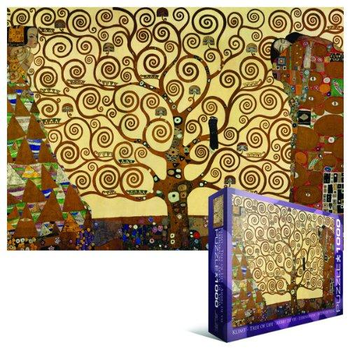 Amazon.com: Eurographics Tree of Life by Gustav Klimt 1000-Piece ...