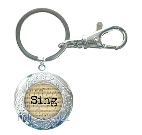 Amazon.com: SING Music Jewelry – Regalo para cantante ...