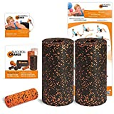 Blackroll orange (the original) - THE self-massage roller - Standard twin set incl. exercise DVD, poster and booklet) by blackroll-orange / Dr. Paul Koch GmbH