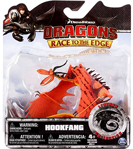 Action Figure Race - How to Train Your Dragon Race to the Edge Legends Collection Hookfang Action Figure