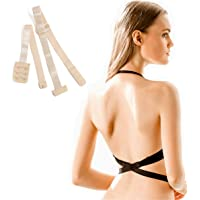 b57f95b1aace7 Low Back Bra Extender 2 Hook  3Hook Bra Strap Converter for Women Lady  Backless Dress