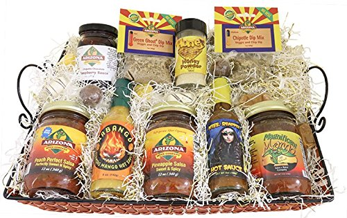All Natural Sweet and Spicy Gift Basket by AriZona