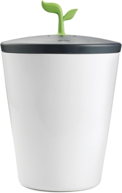 Chef'n EcoCrock Counter Compost Bin Black/White