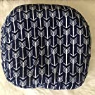 Newborn Lounger Cover in Navy Arrows