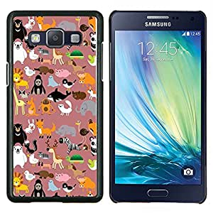Dragon Case - FOR Samsung Galaxy A5 A5000 A5009 - I was prepared for everything - Caja protectora de pl??stico duro de la cubierta Dise?¡Ào Slim Fit