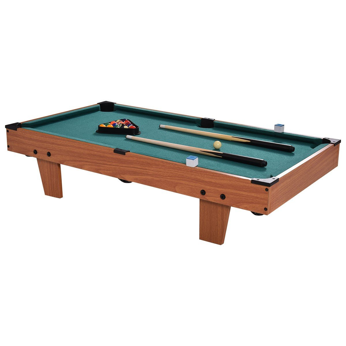 CWY 36'' Indoor Mini Table Top Pool Table Only by eight24hours
