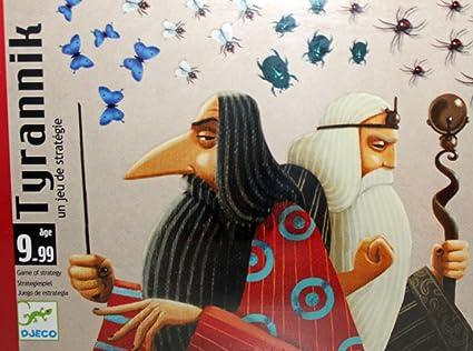 Amazon.com: Card Games Djeco Tyrannik: Toys & Games