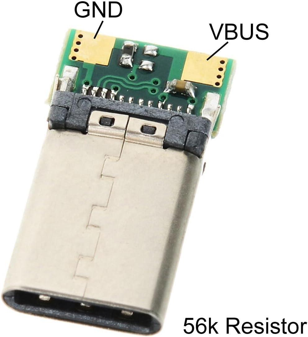 Cy Diy 24pin Usb 3 1 Typ C Usb C Stecker Adapter Smt Elektronik